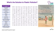 Solution to Plastic Pollution Word Search Thumbnail